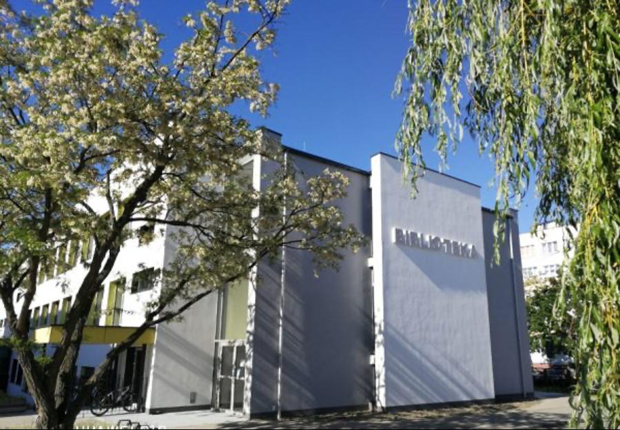 siedziba Gminno-Miejskiej Biblioteki Publicznej w Polkowicach