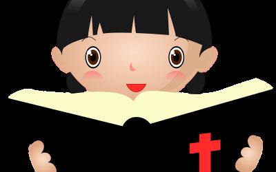 dziewczynka biblia